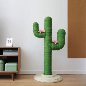 Vetreska Cat Scratch Cactus Shape Tree Cat Climbing Scratching Board AU Stock