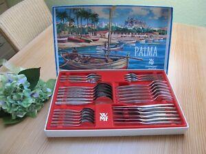 WMF Cromargan Palma / Capri Besteck Tafelbesteck 30 tlg. f/6 Pers. Alte Serie