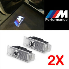FOR BMW M PERFORMANCE LOGO LED PUDDLE PROJECTOR GHOST DOOR LIGHTS F30 E90 E60 M5
