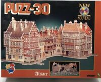 Alsace France Vintage Puzz 3D Puzzle New Sealed Wrebbit 959 Pieces Architectural