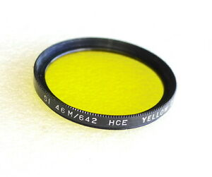 46mm HCE (Tiffen) YELLOW 2 Contrast Filter - PERFECT LN