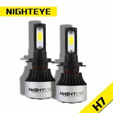 NIGHTEYE Ampoule de Phare 72W 9000LM H7 Lampe à LED Kit  à faisceau 6500K Blanc