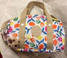 NWT Kipling Daniella Satchel Handbag Purse Citrusmash