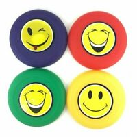 SMILE FRISBEES PACK OF 4 BIRTHDAY PARTY SUPPLIES