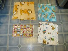 LOT OF 7 PIECES OF GARFIELD FABRIC