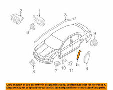 Front Seat Bracket Air r Bag Left Ford Fusion 06 - 12 OEM Ford 6E5Z54611D79A BN4