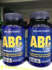 Holland&Barrett ABC&MultivitaminMineral(2x240caplets,Free International Postage)