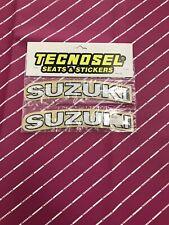 Tecnosel Rm 125 250 Fender Mudguard Front Graphics Decals Nos Suzuki