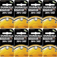 D384/392PK Duracell Silver Oxide Batteries 8pk