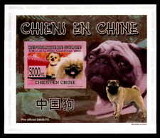 Guinea Epreuve de Luxe perros china Chinese Dogs Dog Chien Deluxe Sheet dg41