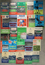 More details for 25 x england programmes from the 1950s & 1960s