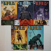 HELLBOY B.P.R.D. Plague of Frogs #1-5 1 2 3 4 5 Dark Horse