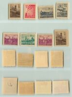 Estonia 1941 SC NB1-NB6 mint some imperf . f1088