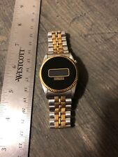 Vintage Fairchild 3H LCD/LED? Watch With Original Bracelet