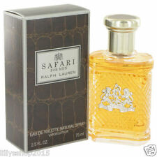 RALPH LAUREN SAFARI MEN EDT 75ml RETAIL SEALED RRP £42 FATHERS DAY PERFECT GIFT