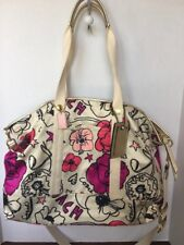 Coach Kyra Floral Travel Tote Shoulder Bag  F77303 Pre-owned