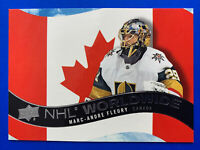 2020-21 Upper Deck NHL Worlwide #WW-12 Marc Andre Fleury Vegas Golden Knights