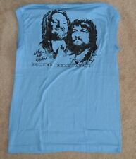 Original Vintage OWNED BY WILLIE NELSON 1984 On The Road Again Tour T-Shirt Med