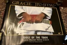 Helio Gracie Signed Poster! Grand Master BJJ! UFC PRIDE FC SEG Auto