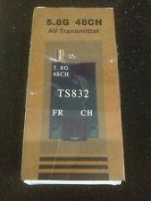TS832 Ver2.5 40Ch Channels 5.8G 5.8GHz 600mw Wireless AV TX FPV Transmitter