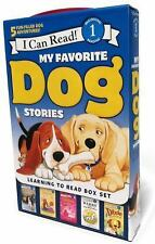 My Favorite Dog Stories: Learning to Read Box Set I Can Read Level 1