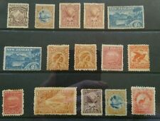 New Zealand 1898-00 Pictorials selection Mint, mixed condition.