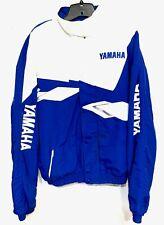 YAMAHA Racing Factory Pro Motocross Supercross Jacket/Coat Blue & White XXLarge