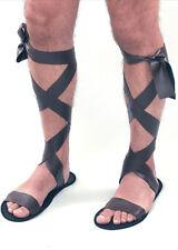 7ff0070cd7e88d Roman Sandals Warrior Egyptian Gladiator Soldier Greek Unisex Fancy Dress  Prop