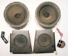 Rowe R-85 Jukebox part: Tested / Working Speaker System - 2-10'S & 2-6'S &cross