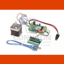 Cnc USB 1d motor PAP control controller set nema 17 2,5a con software de inventario