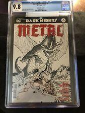 Dark Knights Metal #6 CGC 9.8 Fried Pie Sketch ONLY Universal copy Graded