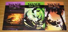 Sam Noir: Samurai Detective - Ronin Holiday #1-3 VF/NM complete series 2 set