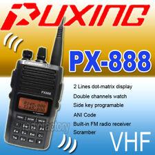 Nouveau Puxing PX-888 D VHF 136-174 MHz + câble voiture