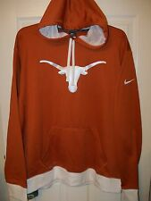 NIKE Texas Longhorns Logo Therma Fit Hoodie Jacket Mens Size XL XLarge NWT