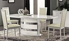 """Luxus Esstisch ausziehbar """"Roma"""" Weiß Modernes Design Stilmöbel Italia"""