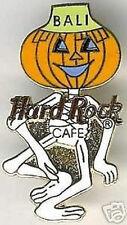 Hard Rock Cafe BALI 1999 HALLOWEEN PIN Dancing Skeleton