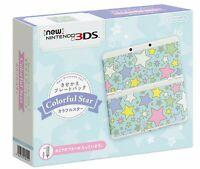 NEW Nintendo 3DS Kisekae plate pack colorful star Japan F/S