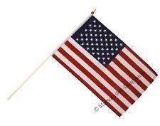Drapeau sur hampe USA américain 30x45cm