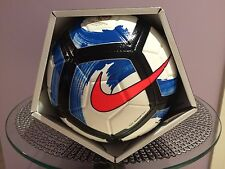 SOCCER BALL-NIKE STRIKE-OFFICIAL BALL-SIZE 3-BLUE/WHITE IN COLOR-NEW-IN THE BOX-
