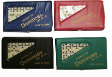 DOUBLE SIX DOMINOES MINI SET OF 28 IN CASE