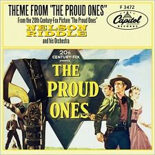 "7"" NELSON RIDDLE The Proud Ones OST Die Furchlosen VIRGINIA MAYO CAPITOL D 1956"