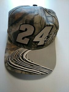 Chase A Nascar Jeff Gordon Hat Hendrick # 24 Cap Baseball Camouflage - Realtree