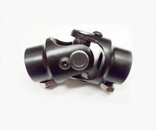 "3/4"" DD X 3/4"" DD Black Powder Coated Universal Steering Shaft U Joint Coupler"
