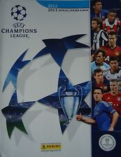 Panini official Sticker Album UEFA Champions League 2012/13 leer