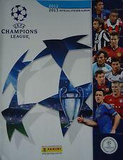 PANINI OFFICIAL STICKER ALBUM UEFA CHAMPIONS LEAGUE 2012/13 vuoto