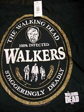 Walking Dead AMC shirt large new w/ tag 100% infected Walkers Staggering Deadly
