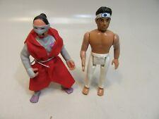 Karate Kid figure 6'' with karate leg and arm and Ninja Warriors Scorpia figure