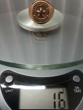 JUNK DRAWER LOT  / LARGE AND HEAVY SOLID 10 KT GOLD RING . SCRAP OR WEAR. NO-...