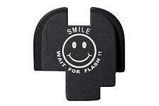 For Springfield Armory XDS 9mm .40 .45 Rear Slide Plate BLK Smile Wait Flash 5