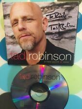 TAD ROBINSON - A NEW POINT OF VIEW - SIGNED BLUES CD Severn Records - SHIPS FREE